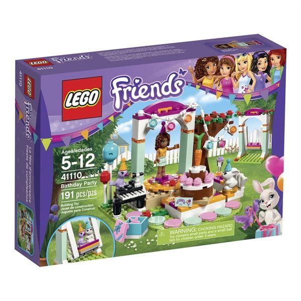 Lego Friends Birthday Party (Kit # 41110)