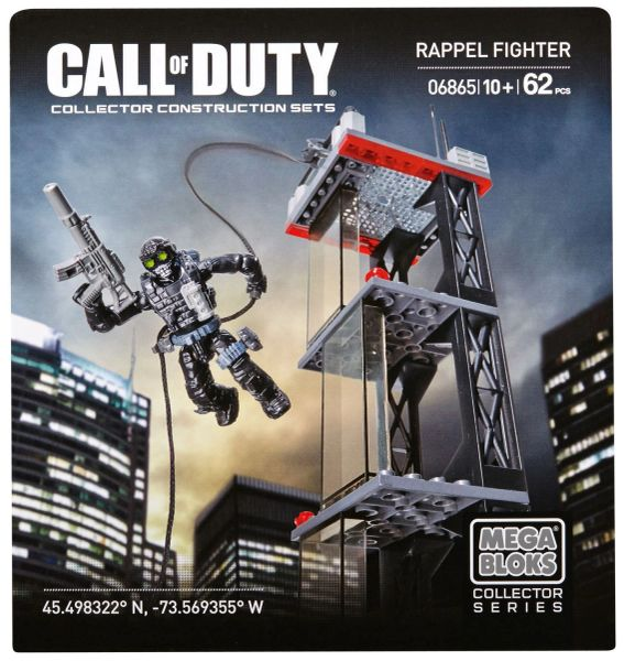 Mega Bloks Call Of Duty - Ghosts Rappel Fighter 6865