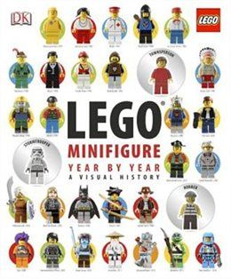 Lego Minifigure year By Year: A Visual History (Hardcover Book)