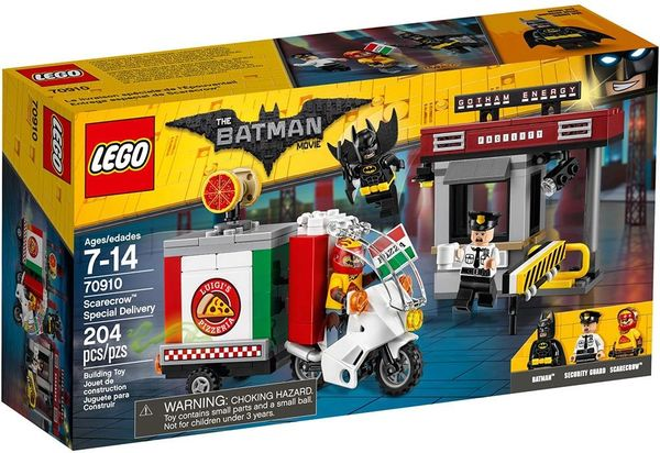 Lego Batman Movie Scarecrow Pizza Special Delivery 70910