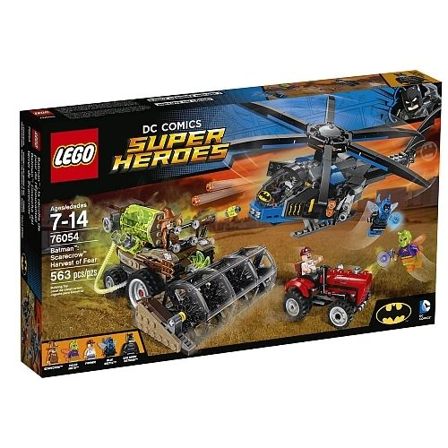 Lego Super Heroes - Batman Scarecrow Harvest Of Fear 76054