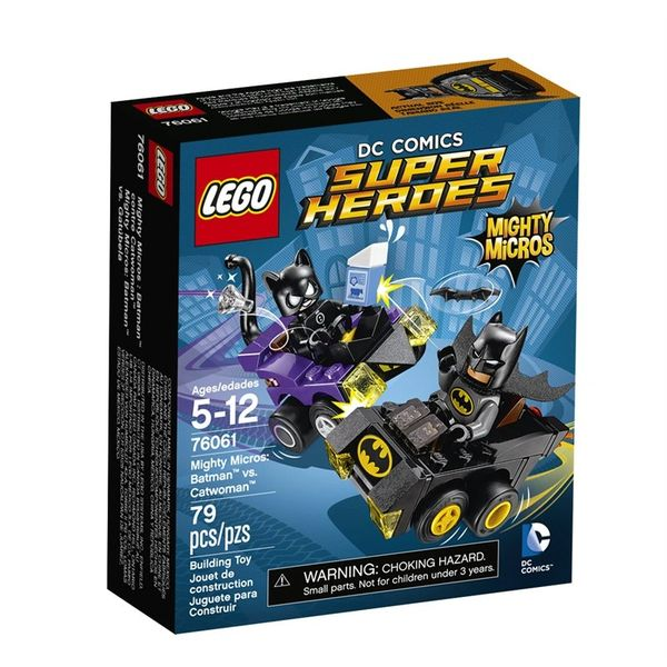 Lego Super Heroes Mighty Micros - Catwoman and Batman 76061
