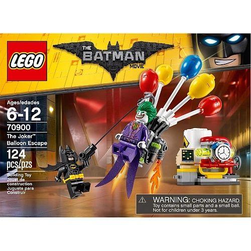 Lego Batman Movie - The Joker Balloon Escape 70900