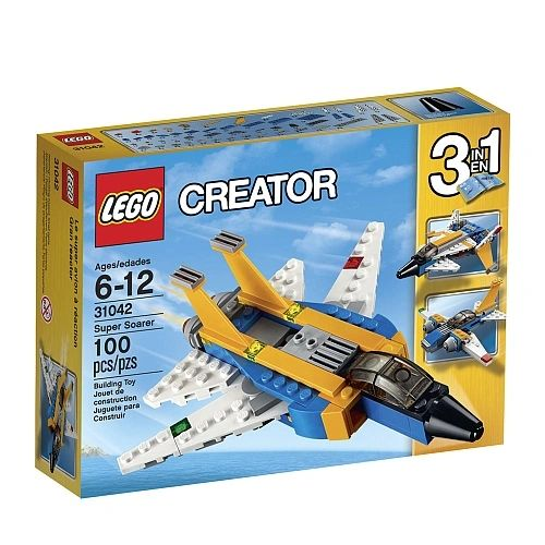 Lego Creator - Super Soarer (3-In-1) 31042