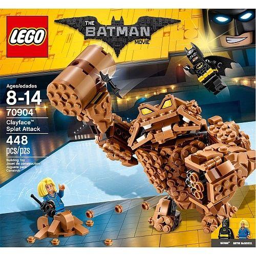 Lego Batman Movie - Clayface Splat Attack 70904