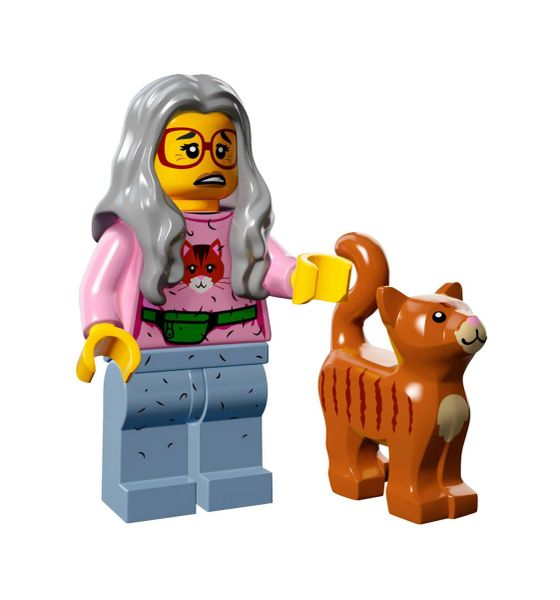Lego - The Lego Movie Collectible Minifigure (Retired) - Mrs Scratchen Post (Crazy Cat Lady)