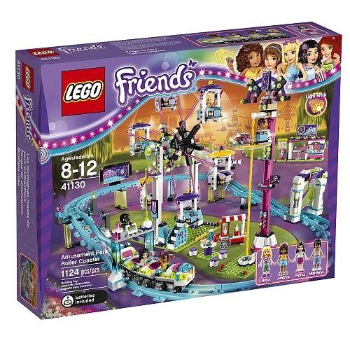 Lego Friends - Amusement Park Rollercoaster 41130