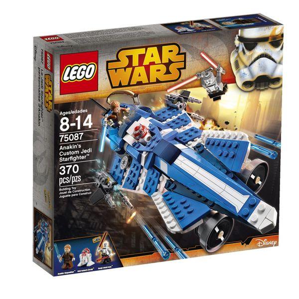 Lego Star Wars - Anakin's Custom Jedi Starfighter 75087