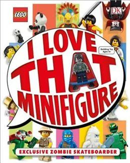 Lego: I Love That Minifigure (Hardcover Book)