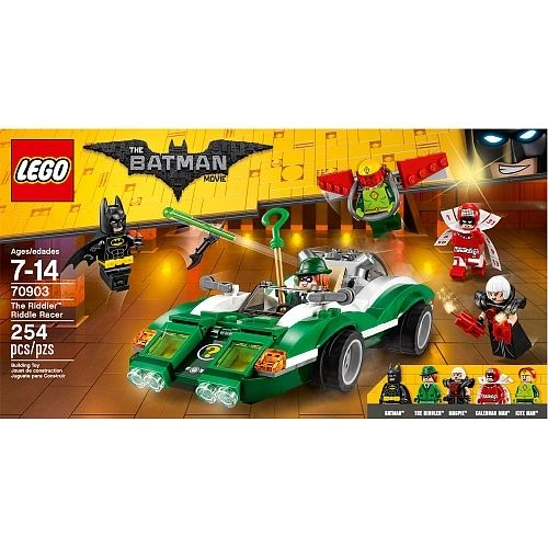 Lego The Batman Movie - The Riddler Riddle Racer 70903