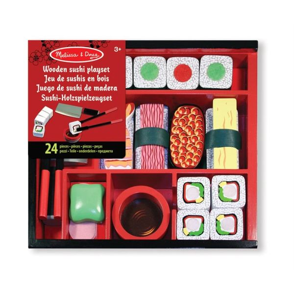 Melissa and Doug Wooden Sushi Playset