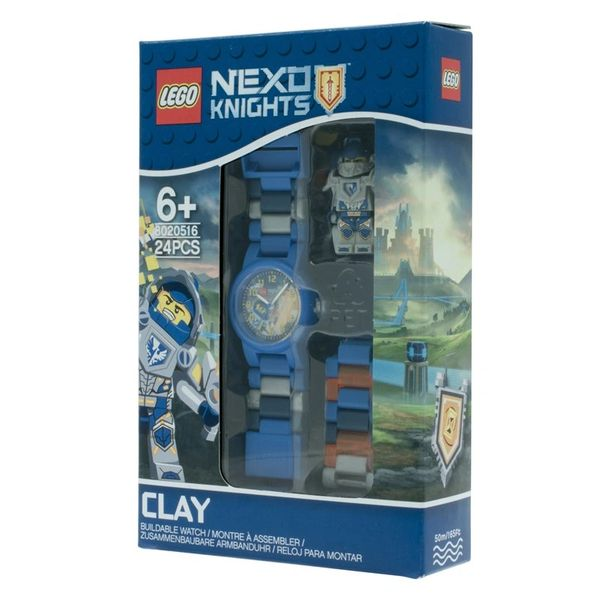 Lego Nexo Knights Clay Kids Minifigure Link Watch