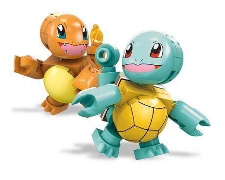 Mega Construx Pokemon Squirtle vs. Charmander