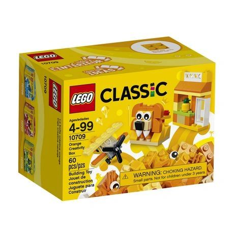 Lego Classic - Orange Creativity Box 10709