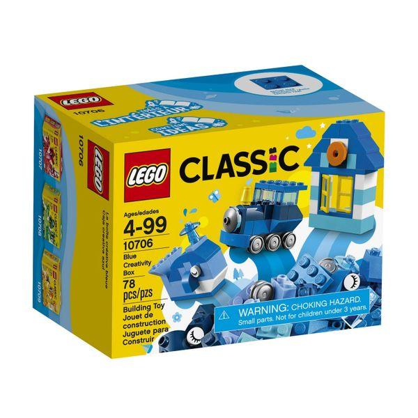 Lego Classic - Blue Creativity Box 10706