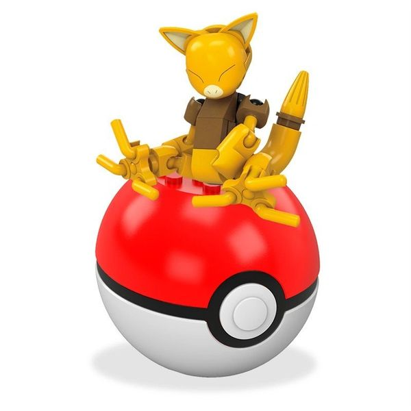 Mega Construx Pokemon Building Sets: Abra and Pokeball
