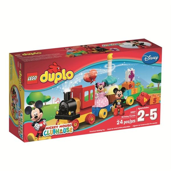 Lego Duplo Mickey And Minnie Birthday Parade 10597