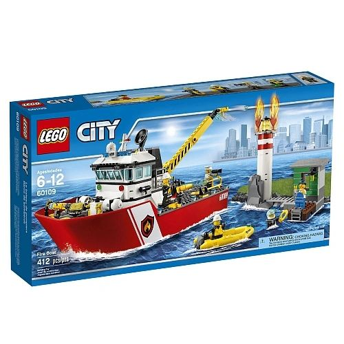 Lego City - Fire Boat 60109