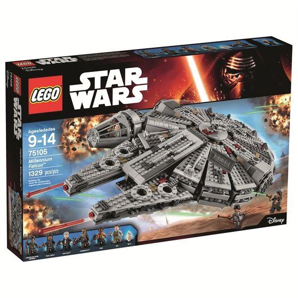 Lego Star Wars Millennium Falcon Building Set 75105