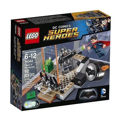 Lego DC Comics - Clash Of The Heroes 76044