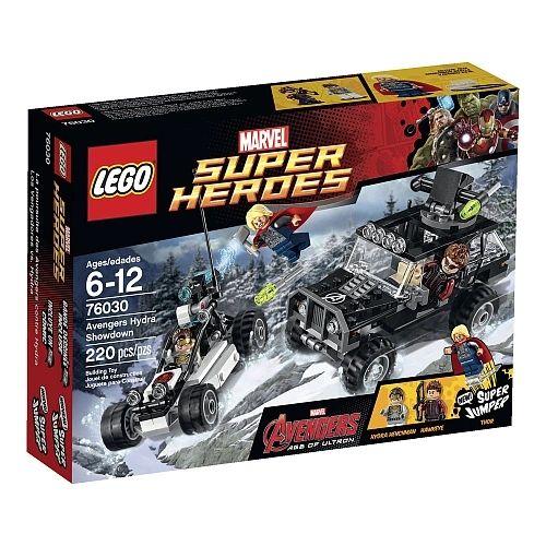 Lego Super Heroes - Marvel Avengers Hydra Showdown 76030
