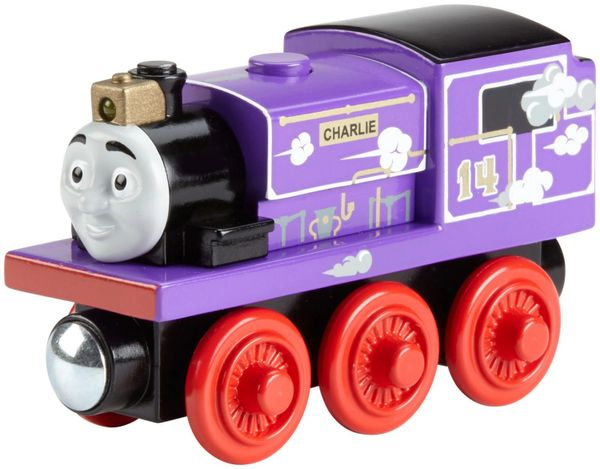 Thomas and Friends - Roll and Whistle Charlie With Sounds & Lights (Wooden Railway Edition)
