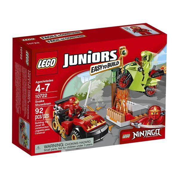 Lego Juniors Ninjago Snake Showdown 10722