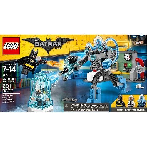 Lego Batman Movie - Mr. Freeze Ice Attack 70901
