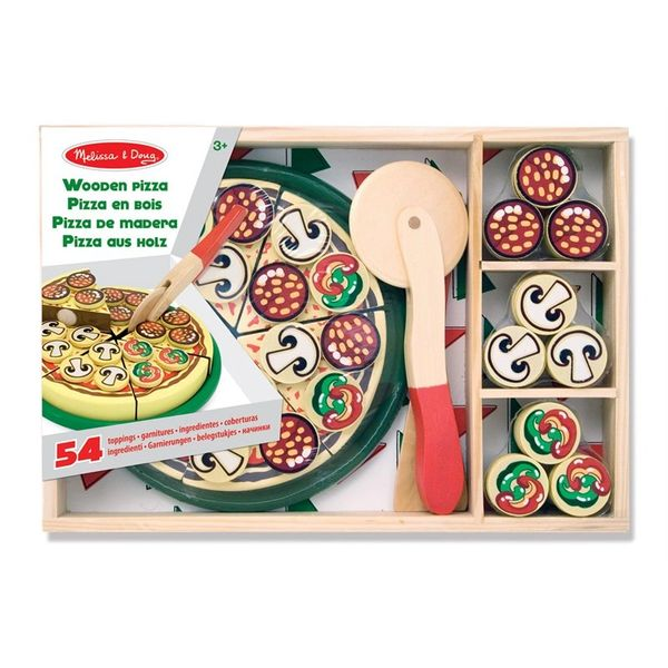 Melissa and Doug Wooden Pizza Play Set