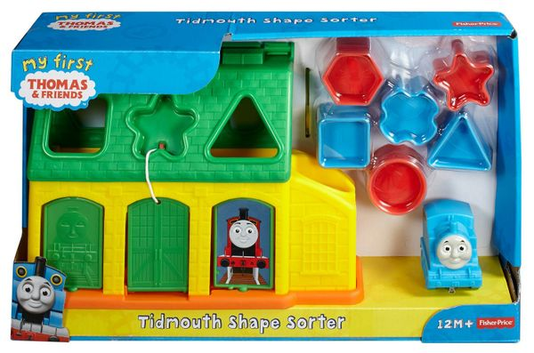 Fisher-Price My First Thomas and Friends Tidmouth Shape Sorter