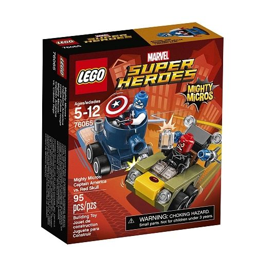 Lego Super Heroes - Mighty Micros: Captain America Vs Red Skull 76065