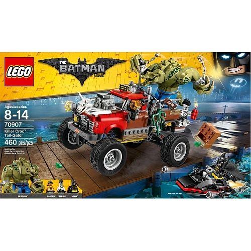 Lego Batman Movie - Killer Croc Tail-Gator 70907