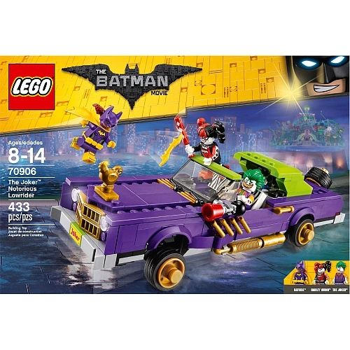 Lego Batman Movie - The Joker Notrious Lowrider 70906