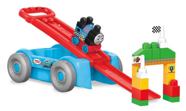 Mega Bloks Thomas & Friends Racin' Railway Wagon Building Set (21 pcs)