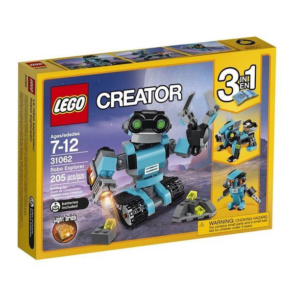 Lego Creator - Robo Explorer (3 In 1) 31062