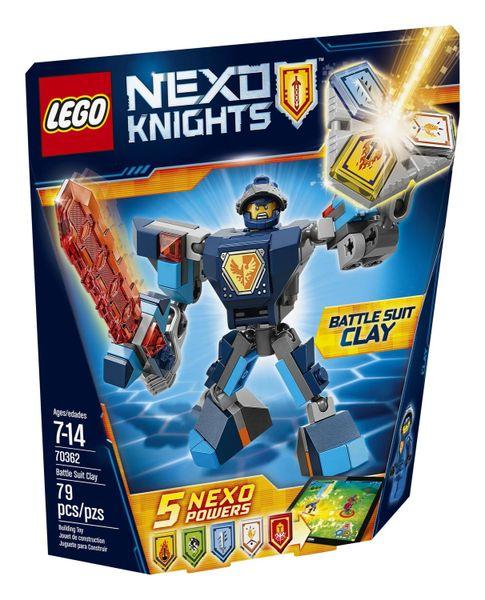 Lego Nexo Knights - Battle Suit Clay 70362