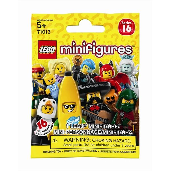Lego Minifigures Series 16 Sealed Blind Pack - 71013