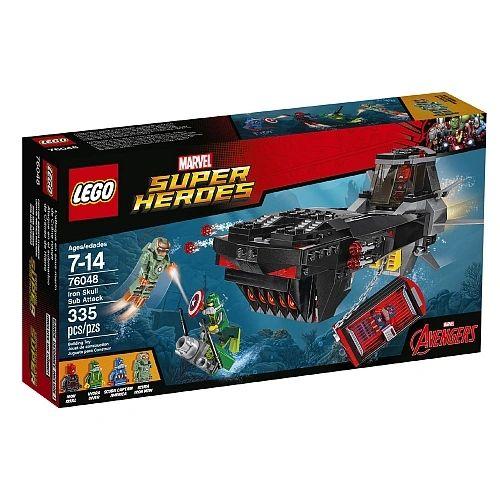 Lego Super Heroes - Iron Skull Sub Attack 76048
