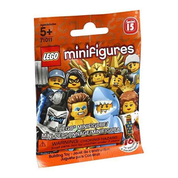 Lego Minifigures Sealed Mystery Pack - Series 15 (Retired) 71011