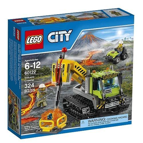Lego City - Volcano Crawler 60122