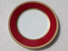 "Mikasa French Embassy Red 12"" Chop Plate or Round Platter (12 units)"