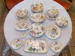 "Stafford Flowers ""Oven to Tableware"" by Spode English Bone China (24 pieces)"