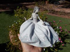 At The Ball Woman Figurine by Lladro