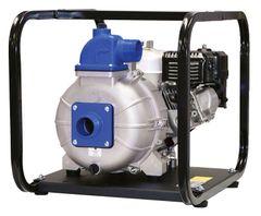 2 Inch Wheeler Rex Construction Trash Pump - B&S or Honda Engines