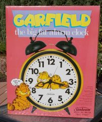 Garfield Big Fat Alarm Clock
