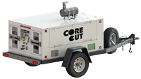CB80CT Trailer Mounted Diesel Fuel Hydraulic Power Unit