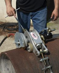 THE PIPEMASTER - Accurate Large Diameter Pipe Cutter