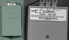 Multicode 109020 single device 300 Mhz reciever (Stanley)
