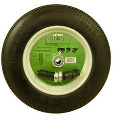 Universal Fit Wheelbarrow Tire Kits - Flat Free or Pneumatic