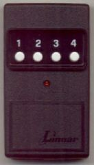 Delta DT-3 + 1 four button transmitter for Delta 3 Receivers.